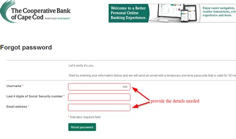coop bank login cape cod banking