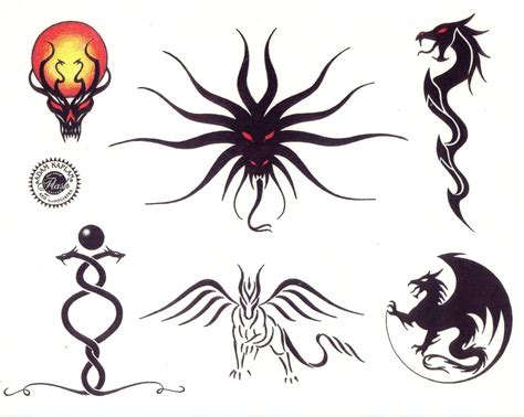 small dragon tattoo designs small tribal tattoos tags tattoos