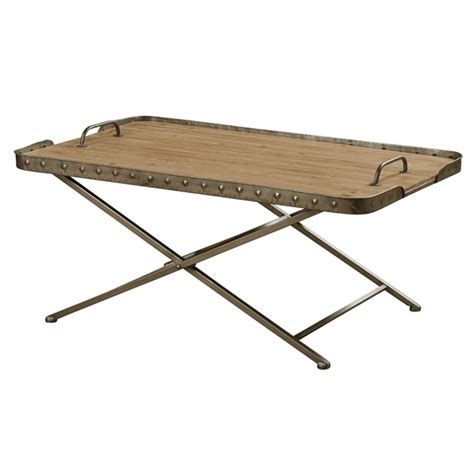 wood top folding table removable wood top folding coffee table