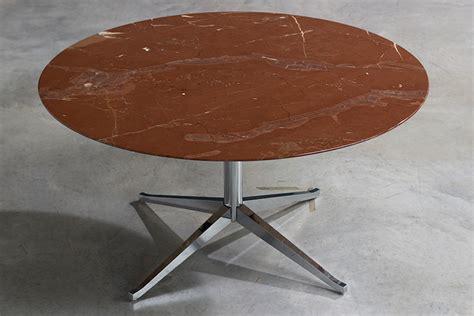 florence knoll table desk florence knoll table or desk in rojo alicate marble 1961