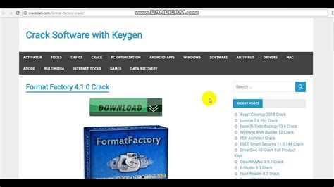 format factory full version with key format factory 4 1 0 crack full version serial key windows