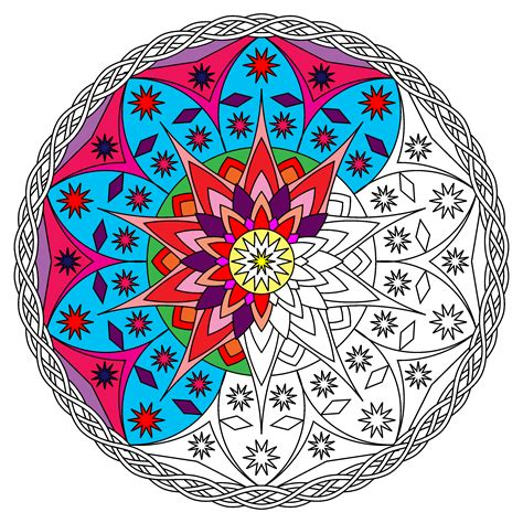 colored mandalas some partially colored mandalas for my book s cover