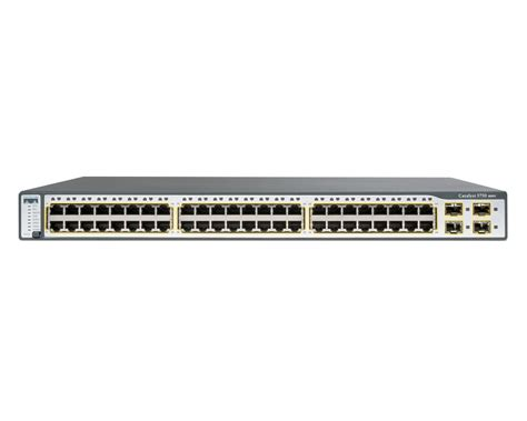 Switch Catalyst cisco catalyst ws c3750 48p ap100 bundle gigabit ethernet