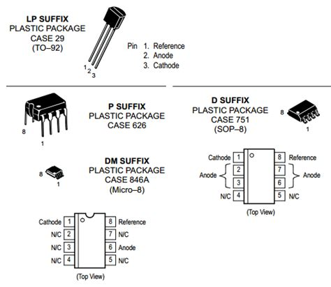 transistor tl431 tl431 datasheet precision references motorola