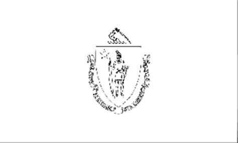 massachusetts state flag coloring page