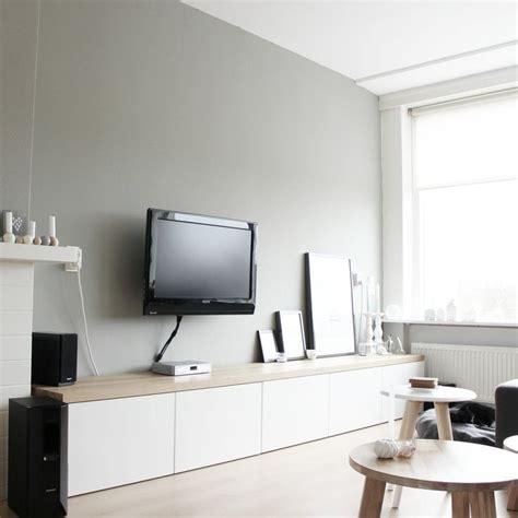 besta hacks mijn tv meubel besta hack eiken blad woonkamer