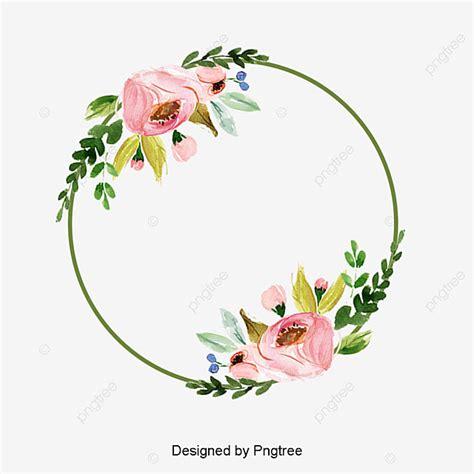 beautiful  colorful flower border elements design lace