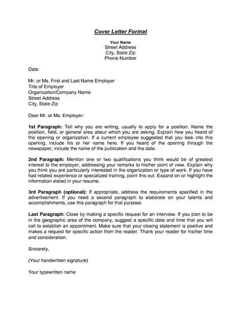 Cover Letter Address Cover Letter Addressing Cover Letters