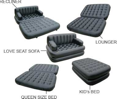 buy air sofa online buy air sofa cum bed online shopclues com