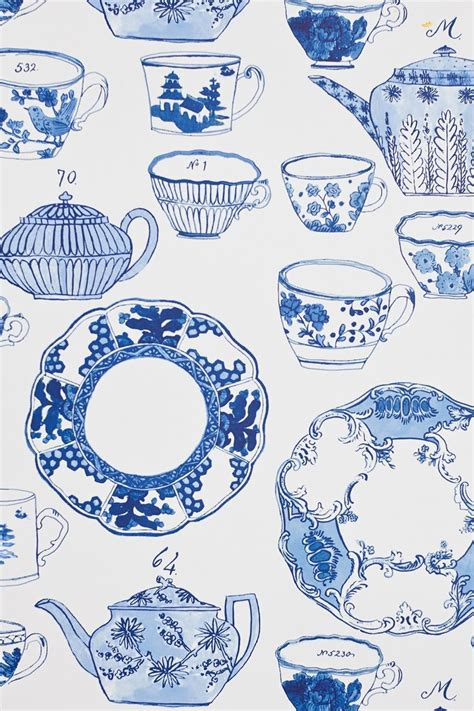 wallpaper blue china delft wallpaper design sponge