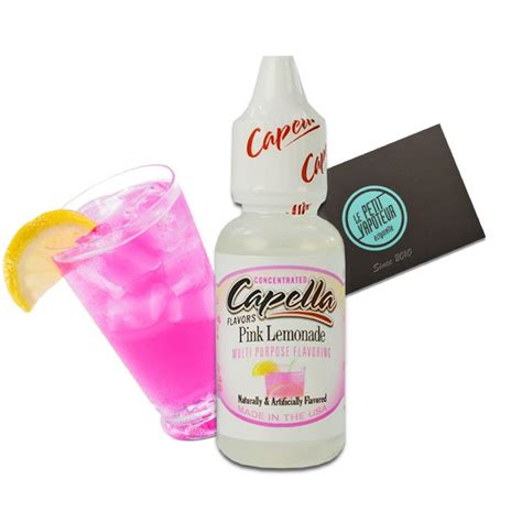 Capella Pink pink lemonade capella concentrate