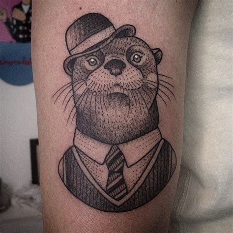otter tattoos 25 best ideas about otter on fox