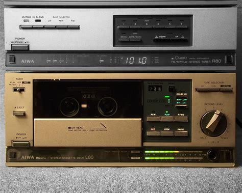 mini hi fi systems with cassette deck vintage audio system collection 1001 hi fi the stereo museum