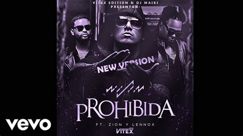 zion lenox wisin wisin prohibida ft zion lennox new version youtube