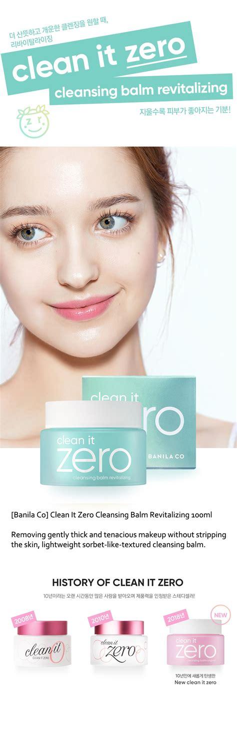 Harga Banila Co Clean It Zero Cleansing Balm banila co clean it zero cleansing balm revitalizing