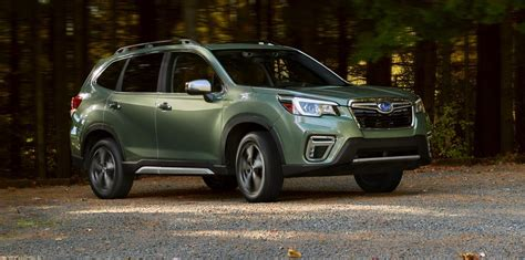 subaru forester 2019 ground clearance 2019 subaru forester revealed
