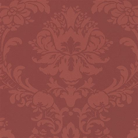 red damask wallpaper home decor damask in red sl27546 traditional wallpaper
