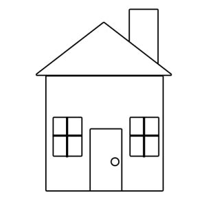 simple house drawing how to draw houses drawing simple house sketch drawing front view clipart best clipart best