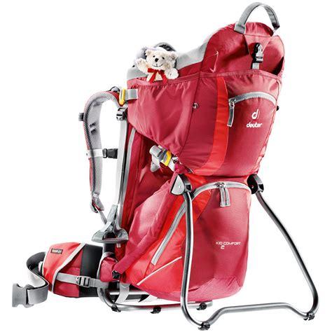 deuter kid comfort ii backpack deuter sport kid comfort 2 backpack cranberry fire 46514