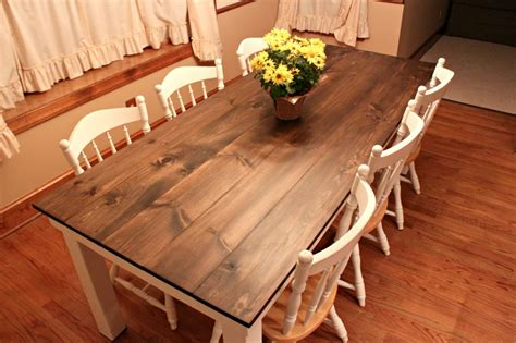 how to make a farmhouse dining table large and beautiful how to build a dining room table 13 diy plans guide