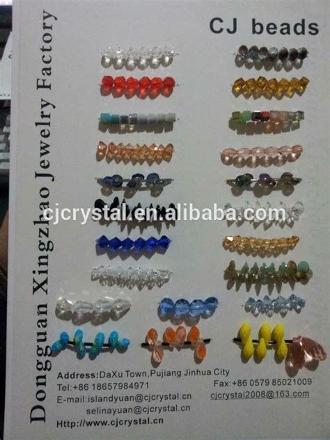 bead types for jewelry glass bead for bearing