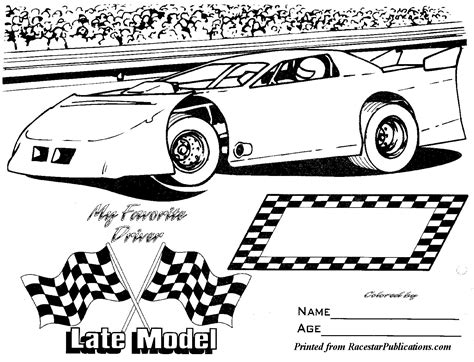 coloring pages of stock cars dirt modified coloring pages www pixshark com images