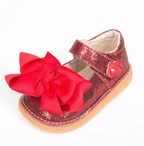 squeaky kid shoes ready set w bow toddler squeaky shoes