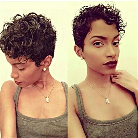 naturally curly pixie cuts cute curly pixie cut hair pinterest short curls