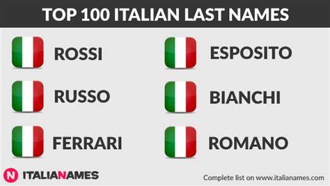 italian names italian names