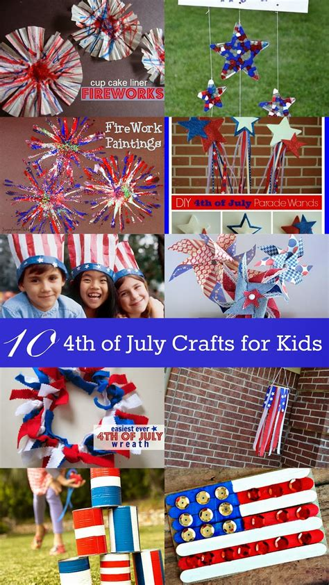 4th of july crafts for 10 fourth of july crafts for eclectic