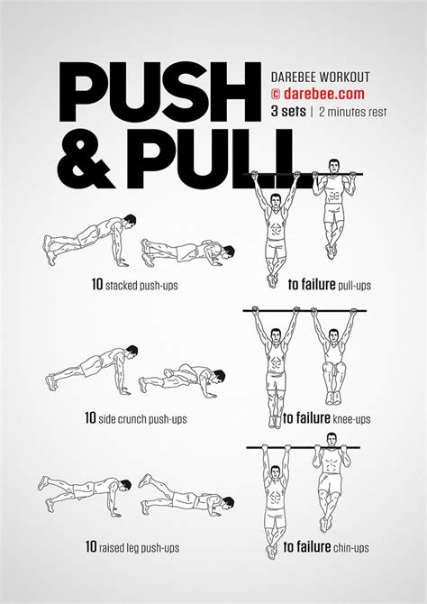 17 best ideas about push pull workout on