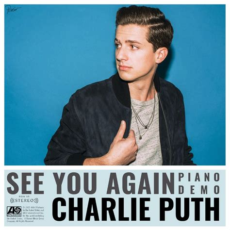 charlie puth rap see you again no rap lyrics and music by charlie puth