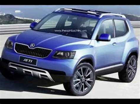 skoda yeti new model new 2014 skoda yeti model rendering redesign 4x4 suv