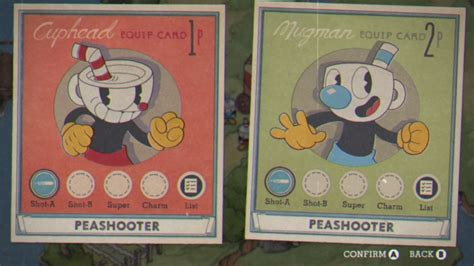 Cuphead Template Card by Image Equip Cards Png Cuphead Wiki Fandom Powered By