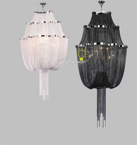 Black Contemporary Chandelier Black White Chain Chandelier Contemporary Chandeliers New York By Lighting