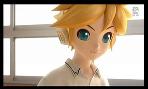 len 3d len kagamine smile by miyorii on deviantart