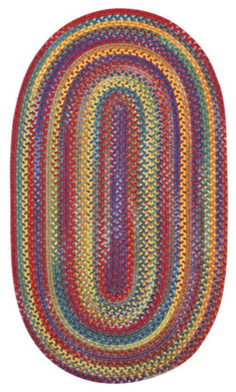 bright multi colored rugs capel rugs kill hill bright multi colored braided