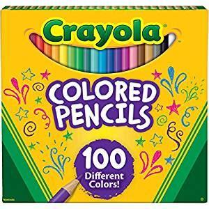 crayola colored pencils 100 buy crayola colored pencils 100 count at low prices