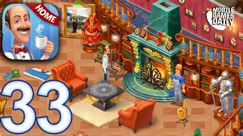 home design story walkthrough homescapes story walkthrough gameplay part 33 day 24
