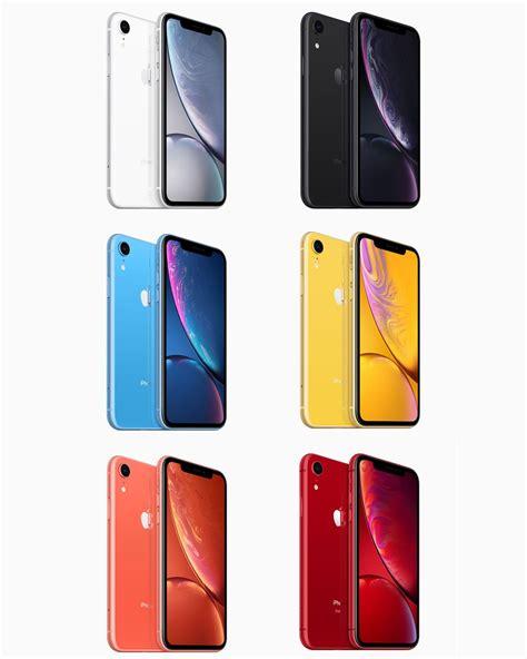 apple unveils   iphone xr