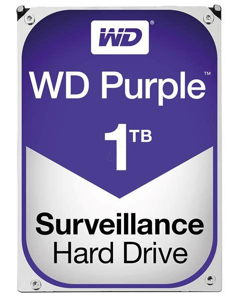 Excelstors Purple Pink External Drive by Wd10purz Wd Purple Surveillance Drive 1 Tb At