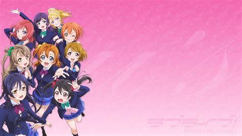 wallpaper anime love live love live school idol project wallpaper wallpapersafari