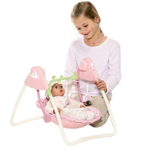 baby annabell electronic swing baby annabell 2011 tijd gaan slapen baby rocking horse