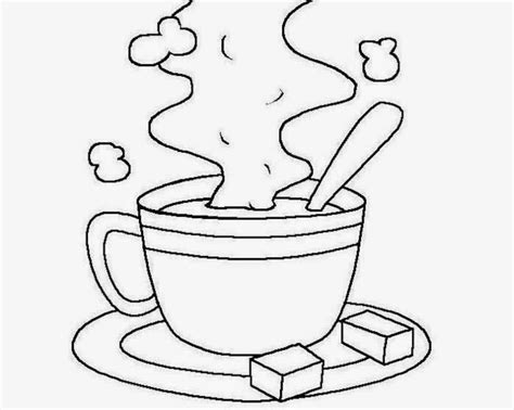 free cup coloring pages