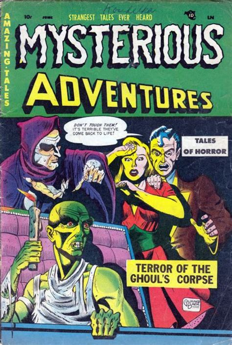 horror and thriller comics vol 3 beware mysteries 126