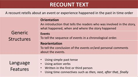 Recount Text English For Pleasure | recount text english for pleasure