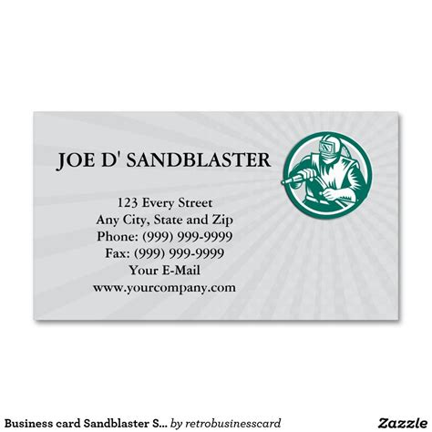 circle business card template business card sandblaster sandblasting hose circle