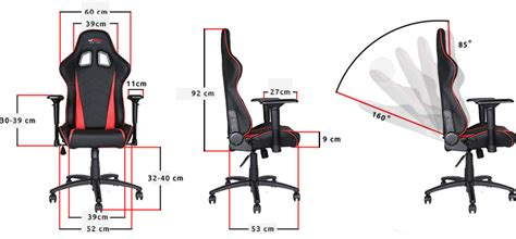 Gt omega pro racing gaming office chair black leather