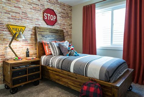 futon kids room 25 vivacious kids rooms with brick walls full of personality