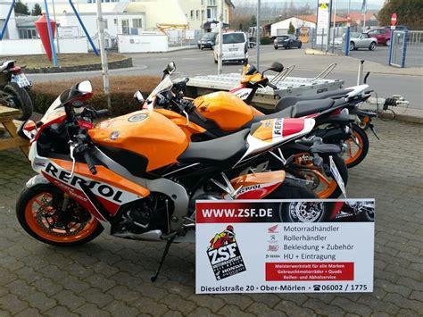 Motorrad Honda Cbr 1000 Rr by Umgebautes Motorrad Honda Cbr1000rr Fireblade Zsf